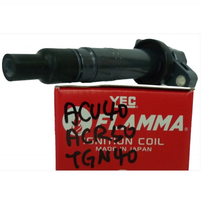 YEC FLAMMA Ignition Coil for Toyota Camry ACV40, Estima ACR50, Innova TGN40, 1pc. (Ref Part No: IGC118F)