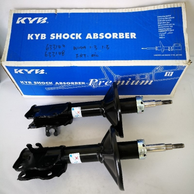 KYB Premium Front Oil Shock Absorbers for Proton Wira 1.3/1.5. 1 Pair - FLH + FRH. (P/N: 633147RC - Front RH, 633148RC - Front LH)