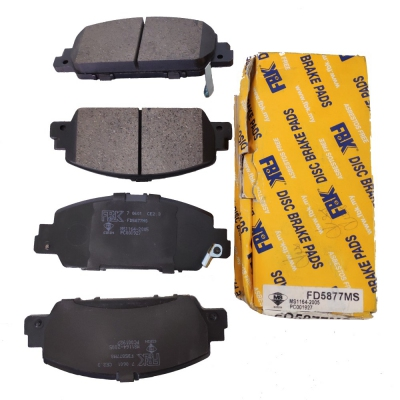 FBK Front Brake Pads for Honda Accord T2M / T2G / T2A. 1 Set. (Ref Part No: FD5877MS)