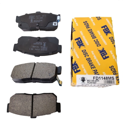 FBK Rear Brake Pads for Nissan Sentra N16 / Cefiro A32, 1 Set (Ref Part No: FD1148MS)