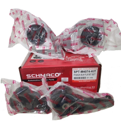 Schmaco Engine Mounting Kit for Proton Saga FLX Manual (4Pcs in 1 Kit)