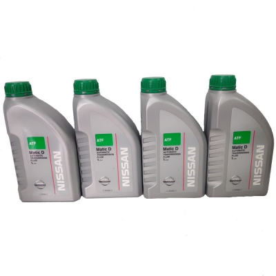 Nissan TF Matic D Automatic Transmission Fluid 1 Liter x 4 (Set of 4 x 1L = 4 Liters)