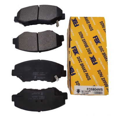 FBK Front Brake Pads for Honda CRV S9A. 1 Set. (Ref Part No: FD5804MS)