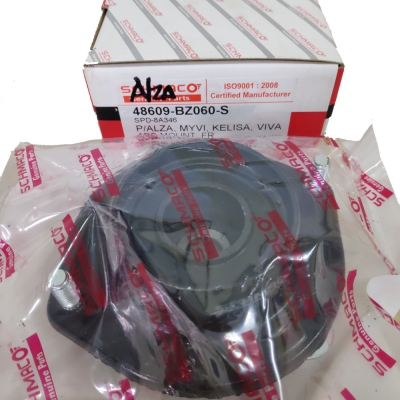 Front Absorber Mounting with Bearing for Perodua Alza. 1 pc. (Ref Part No: 48609-BZ060-S)