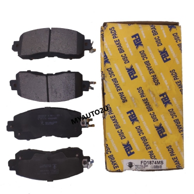 FBK Front Brake Pads for Nissan Cefiro A33, Teana 2.0 J31 / L33. 1 Set. (Ref Part No: FD1874MS)