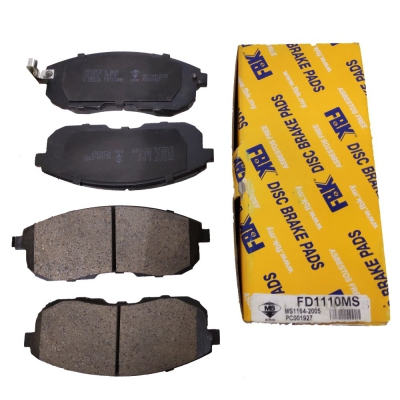 FBK Front Brake Pads for Nissan Cefiro A32 / Teana J32, 1 Set (Ref Part No: FD1110MS)