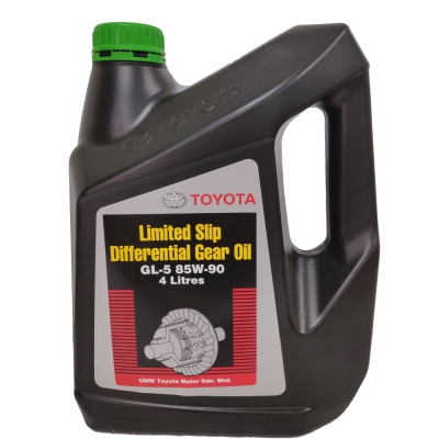 Toyota Limited Slip Differential Gear Oil GL5 85W-90. 4L (Toyota LSD Gear Oil, 4-Litre Packing)