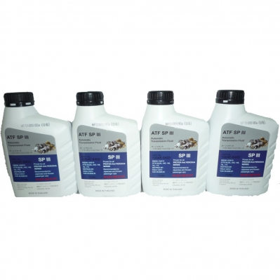 Premium ATF SP III Automatic Transmission Fluid for Proton & Perodua Series. 4 x 1L (4 Liters)